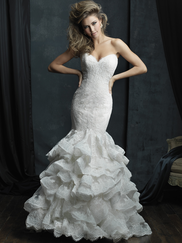 Allure Bridals Couture C384 Sweetheart Wedding Dress