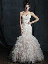 Allure Bridals Couture C391 Sweetheart Wedding Dress