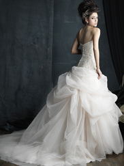 Allure Bridals Couture C393 Sweetheart Wedding Dress