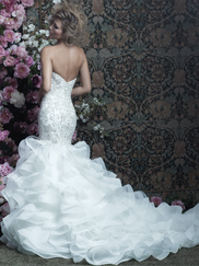 Allure Bridals Couture C410 Sweetheart Wedding Dress
