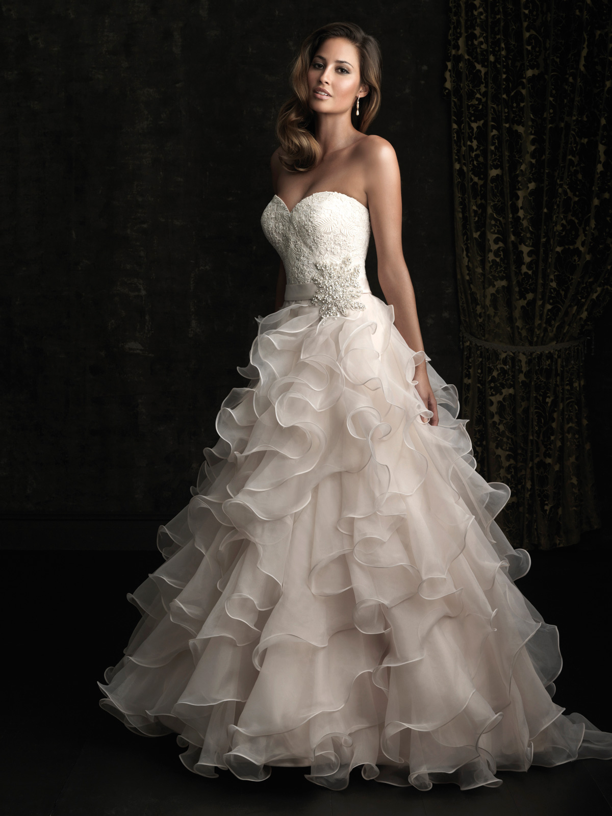 Cinderella Wedding Dress Allure 8955 Dimitradesigns Com