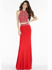 Alyce Paris 6708 Two Piece Prom Gown