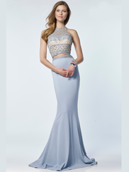 Alyce Paris 6712 Two Piece Prom Gown