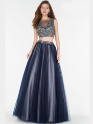 Alyce Paris 6723 Two Piece Prom Gown