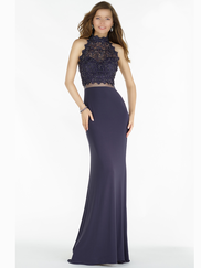 Alyce Paris 6737 High Neck Prom Gown