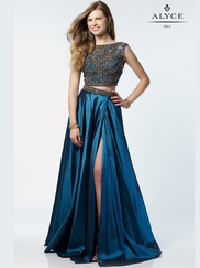 Alyce Paris 6740 Two Piece Prom Gown