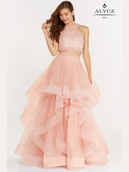 Alyce Paris 6743 Two Piece Prom Gown