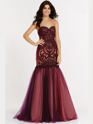Alyce Paris 6752 Sweetheart Prom Gown