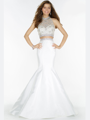 Alyce Paris 6781 Two Piece Prom Gown