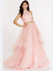 Alyce Paris 6784 Two Piece Prom Gown