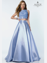 Alyce Paris 6789 Two Piece Prom Gown