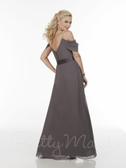 Beaded Spaghetti Straps Pretty Maids Bridesmaid Dress 22603