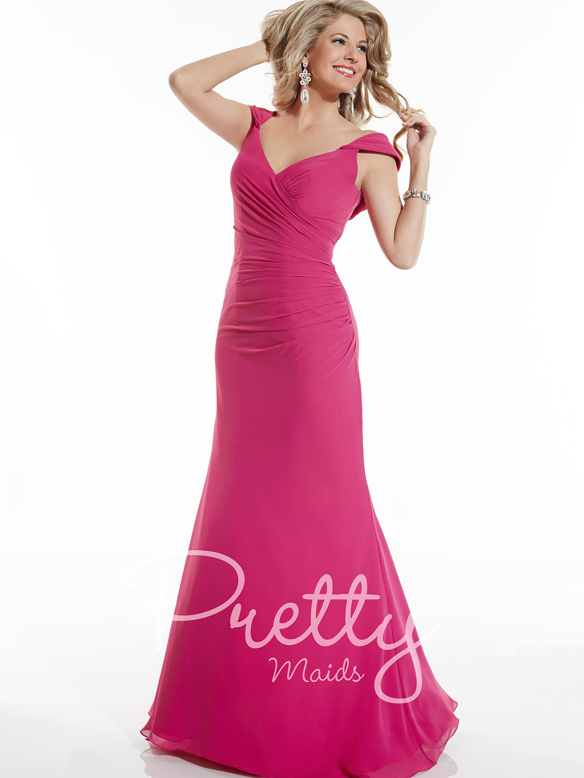 Pretty Maids Bridesmaid Dress 22622: DimitraDesigns.com