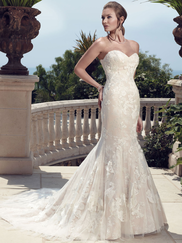 Casablanca 2142 Strapless Sweetheart Wedding Dress