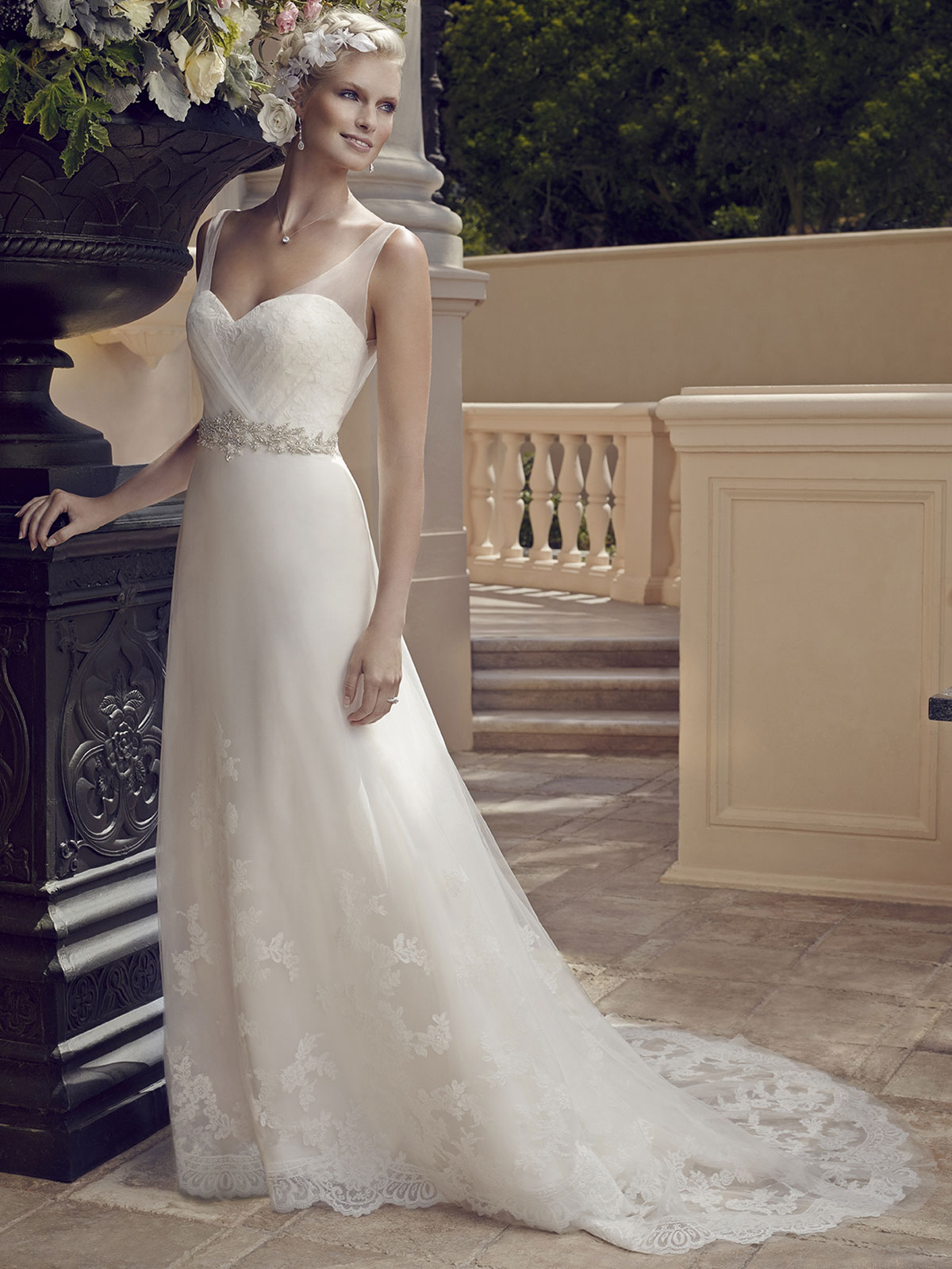 Casablanca 2196 Sweetheart Bridal Gown|DimitraDesigns.com