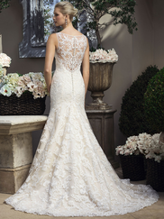 Casablanca 2206 Tank V-Neckline Wedding Dress