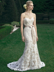 Casablanca 2221 Strapless Sweetheart Wedding Dress