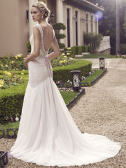 Casablanca 2234 Beaded Tank Straps Wedding Dress