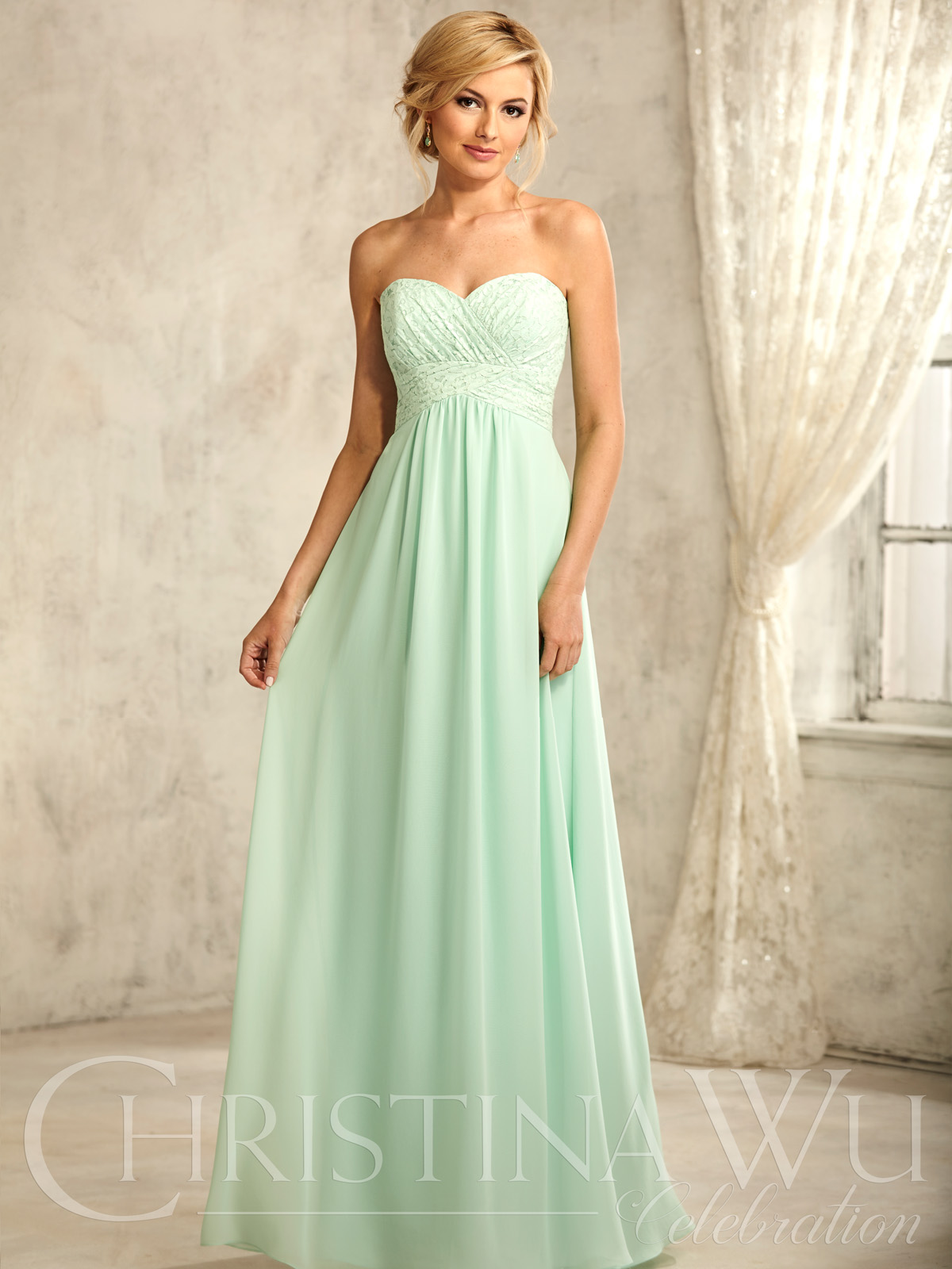 dress style 693 lace and chiffon tank