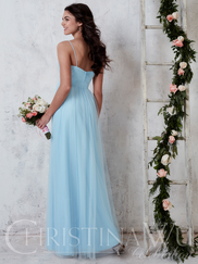 Christina Wu Celebration 22738 Sweetheart Pleated Bridesmaid Dress