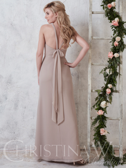 Christina Wu Celebration 22741 High Neck Bridesmaid Dress