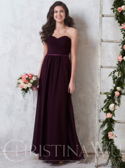 Christina Wu Celebration 22742 Sweetheart Pleated Bridesmaid Dress