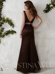 Christina Wu Occasions 22668 Sequined Bodice Bridesmaid Gown