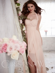 Christina Wu Occasions 22700 Hi-Low Bridesmaid Gown