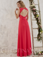 Christina Wu Occasions 22713 Pleated Bodice Bridesmaid Gown