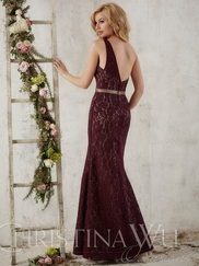 Christina Wu Occasions 22718 One Shoulder Bridesmaid Gown