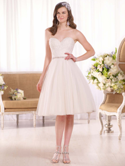Essense Of Australia D2103 Sweetheart Wedding Dress