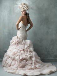 Fit & Flare Sweetheart Allure Couture Wedding Dress C330