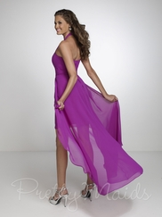Halter Empire Pretty Maids Bridesmaid Dress 22532
