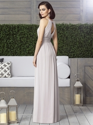 Halter Ruched Bridesmaid Dress Dessy 2906