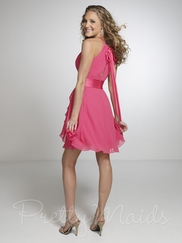 High Halter Pretty Maids Bridesmaid Dress 22527