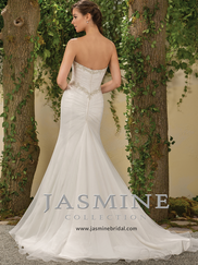 Jasmine F181001 Sweetheart Beaded Wedding Dress