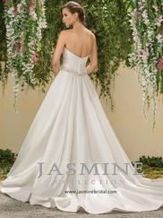 Jasmine F181008 Sweetheart Pleated Wedding Dress