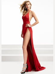 Jasz Couture 5959 Halter Prom Gown
