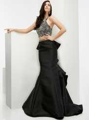 Jasz Couture 5990 High Neck Prom Gown