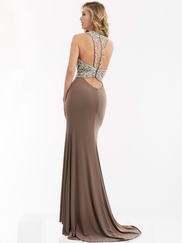Jasz Couture 5994 High Neck Prom Gown