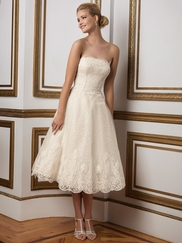 Justin Alexander 8810 Strapless Wedding Dress