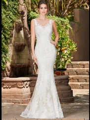 Kitty Chen Illusion Boat Neckline Bridal Gown Noelle
