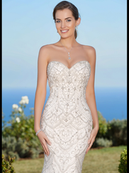 Kitty Chen Sweetheart Beaded Bridal Gown Jamie
