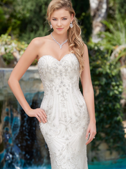Kitty Chen Sweetheart Bridal Gown Chantal