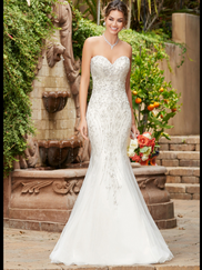 Kitty Chen Sweetheart Bridal Gown Pixie