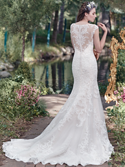 Maggie Sottero Mercedes Illusion Sweetheart Neckline Bridal Gown