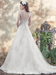 Maggie Sottero Morgan Illusion Sweetheart Neckline Bridal Gown