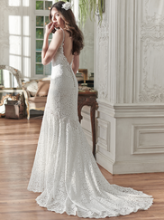 Maggie Sottero Paigely V-neck Bridal Gown