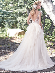 Maggie Sottero Raeleigh Cap Sleeves Bridal Gown