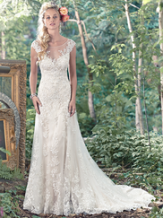 Maggie Sottero Tami Illusion Sweetheart Neckline Bridal Gown